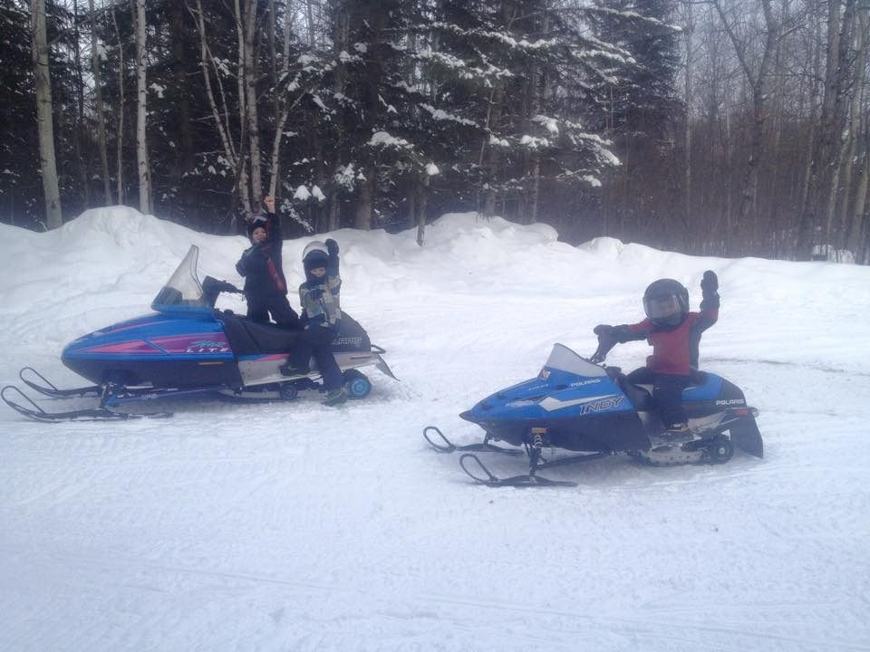 Kids out for a rip!