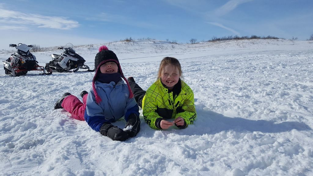 Family day is for sledding!