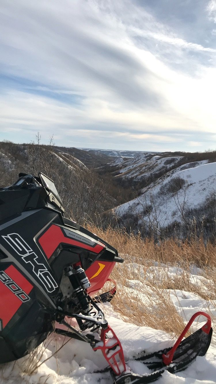 Last ride of the season in Fort Qu'Appelle's valley area