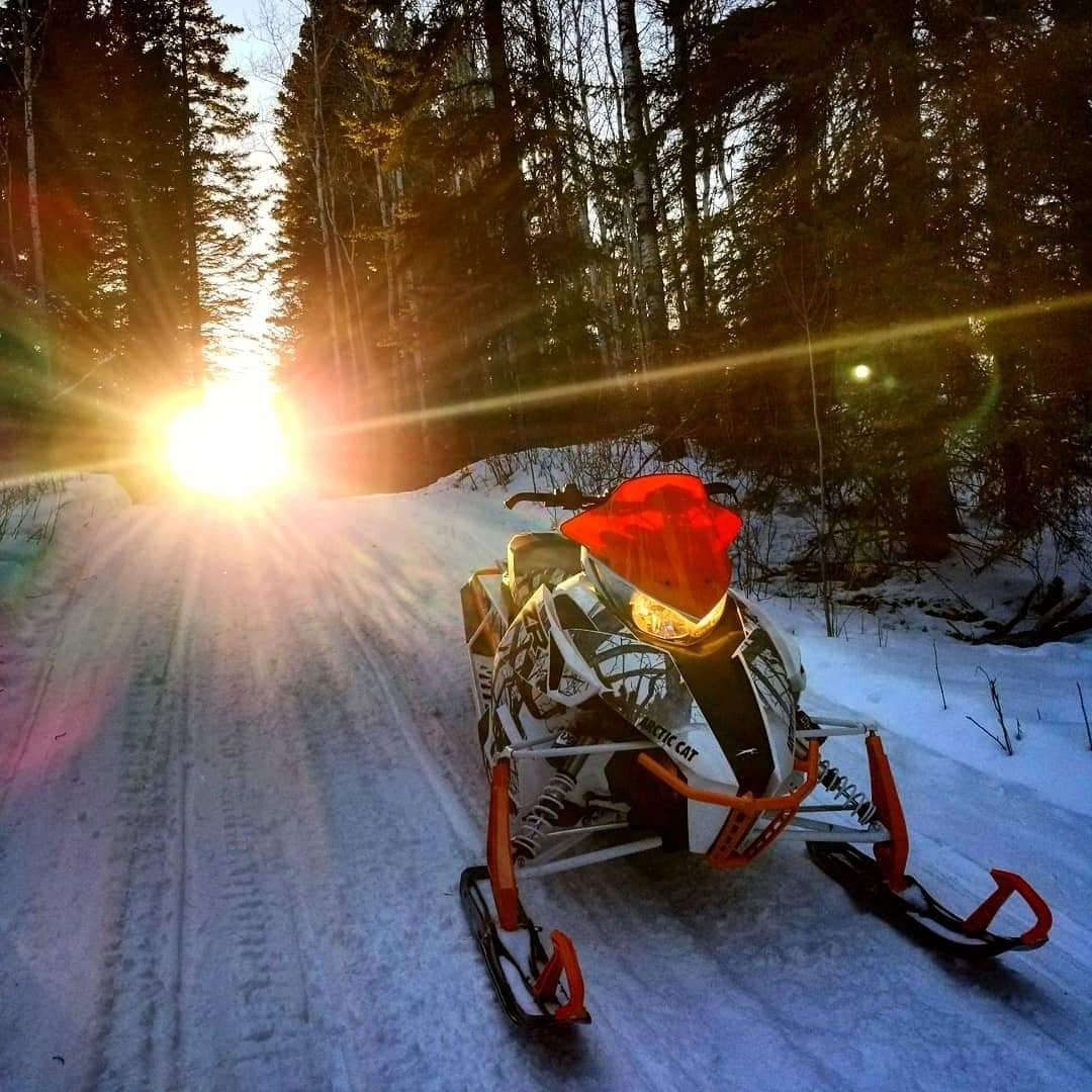 Sunsets and Snowmobiles