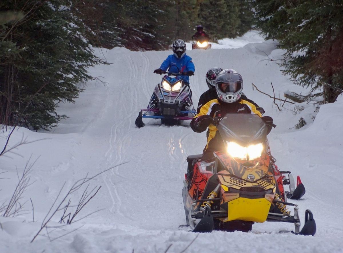 Athabasca ladies ride