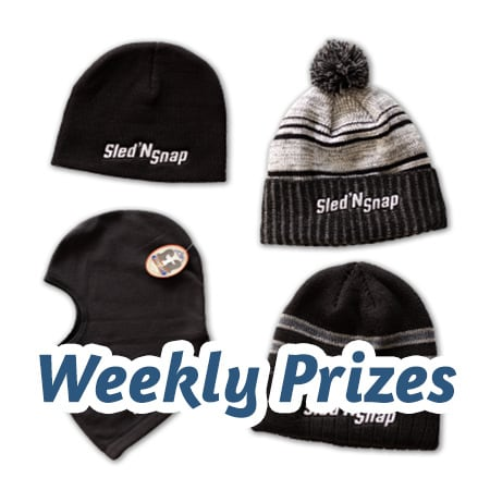 Snowmobile Photo Contest Weekly Prizes