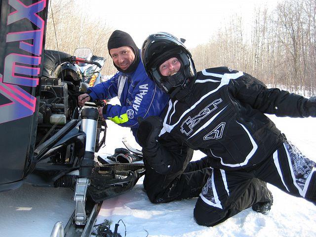 Replacing belt on a Yamaha V-Max