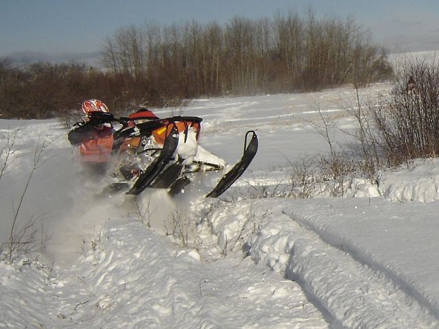 blasting out of the bullrushes - FUN