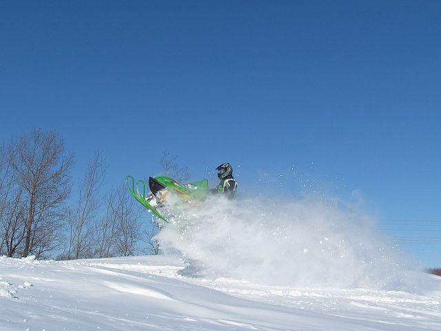 Powder drifts