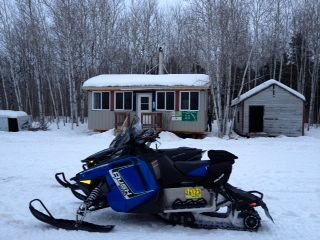 Best Marked Trails in Manitoba!  Great job! All clubs should see how they have them marked!