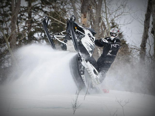 Playing in the powder!