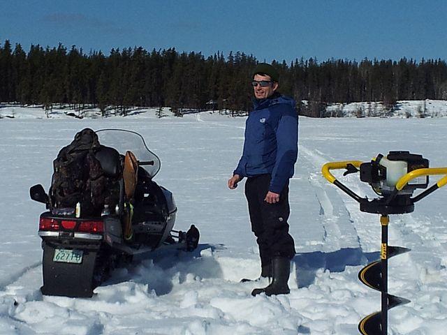 Mantrip Weekend 2013 Sledding, Ice Fishing