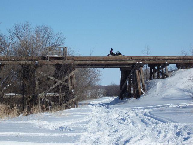 Rail bridge near Deerwood
