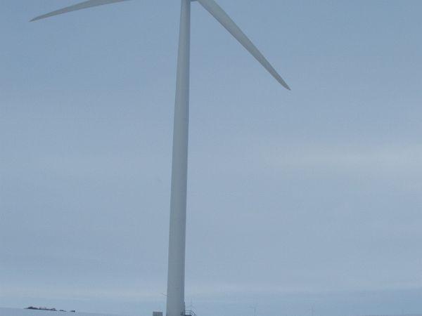 Wind mill near St Leon