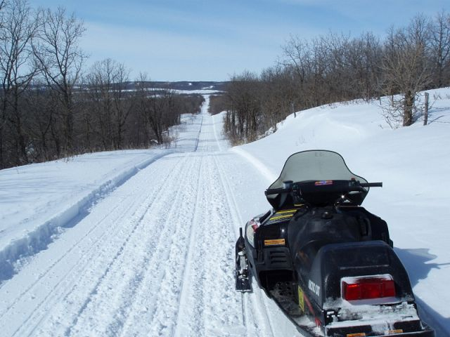 Trail in the Pembina Valley
