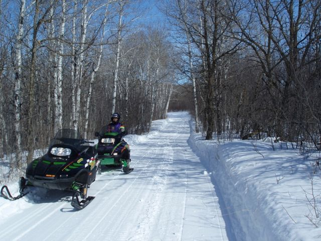 Great trails in the Pembina Valley