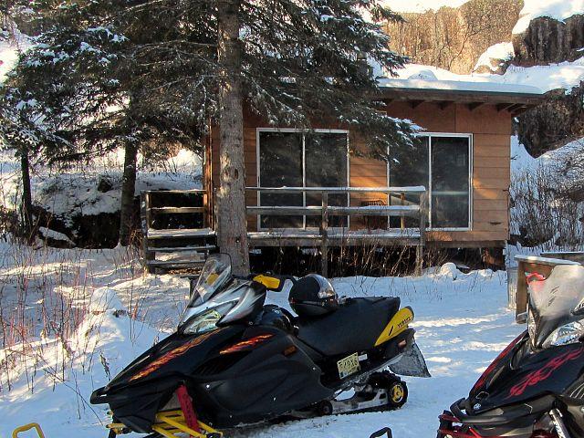 snowmobile shack