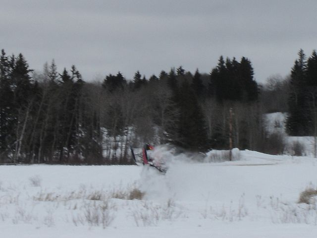 In the cloud of awesome powder is a 600RMK - really!