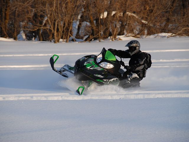 Great snow conditions in the river hills!