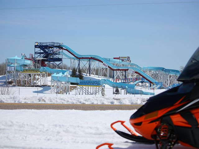 Many non-sledders are most likely wishing for beach weather. Not me...not quite yet anyhow!