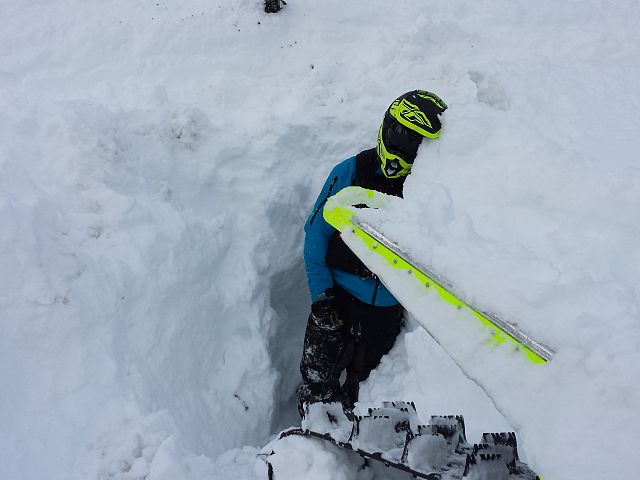 sleds.  dig trenches. deep ones.