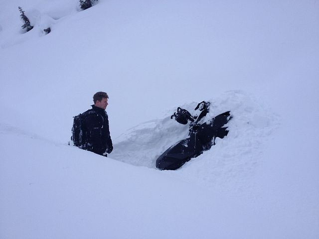 """""""Can I get a quick ski pull"""""""