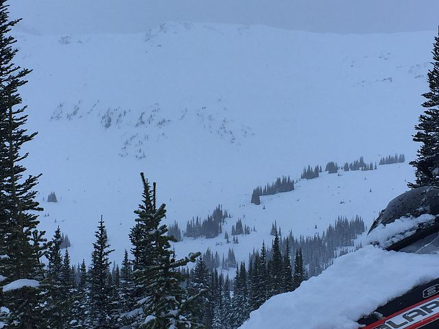 No sun, but there's powder