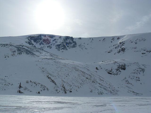 Hills around Goat Lake / Goat Pass