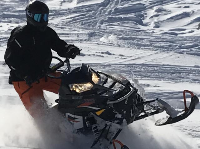 Jeremy Rustad -  one ski wondering
