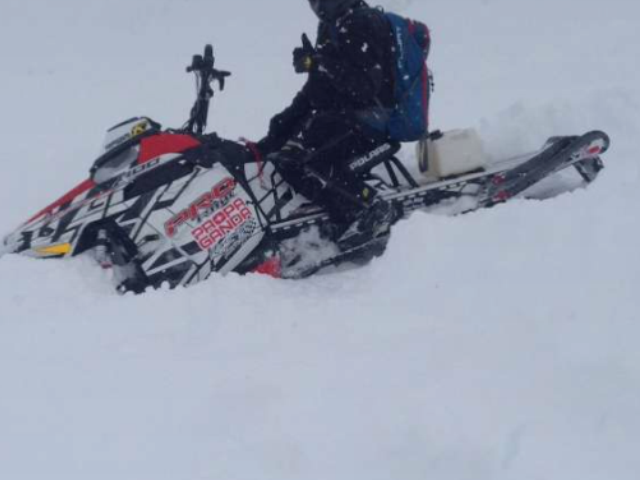 Snow is deep. Smiles are big