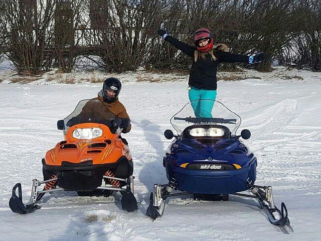 we love sledding