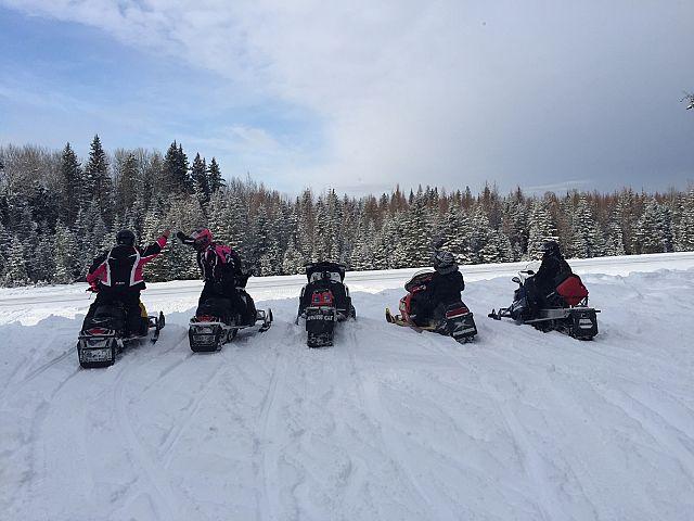 Ski doo riders have more fun!
