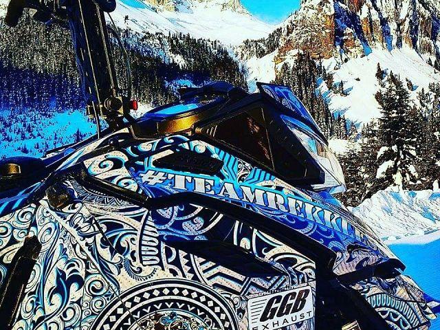 Team Rekkless rider Andy Messner