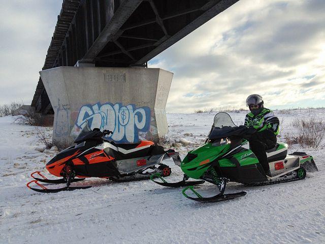 Floodway trail 283 Dec 19th
