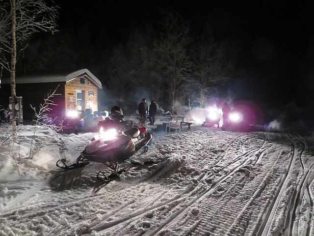 Memorial Ridge Shelter , Night Ride