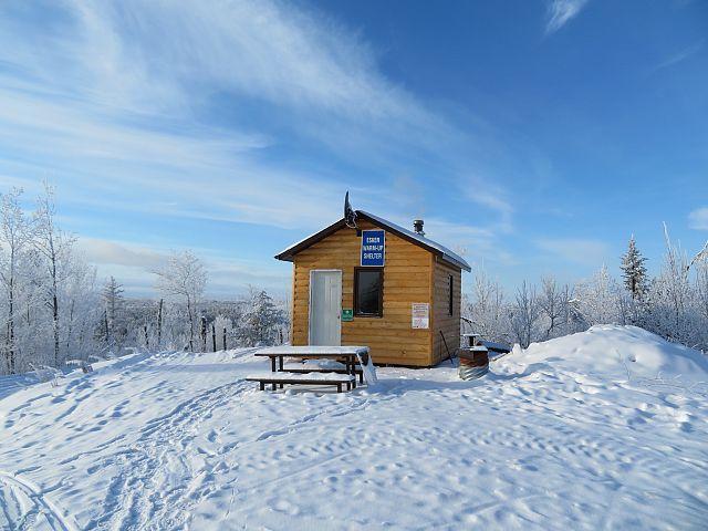 Eskers Warm up Shelter