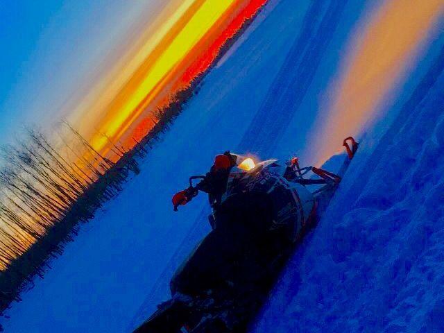 """A trailblazer sunset """