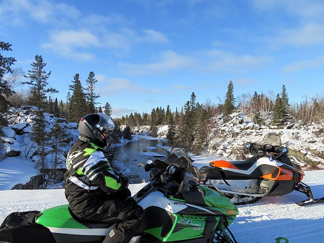 Dec 13, our first ride of the season