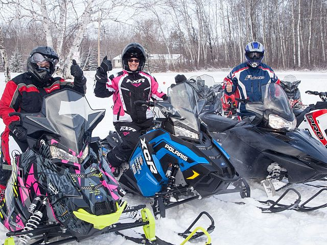 Fun on the Sled for Eternity Ride!