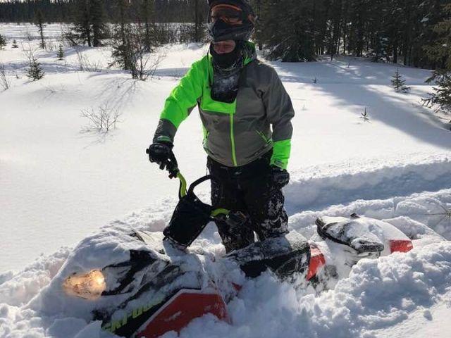 Spring riding Northern Saskatchewan